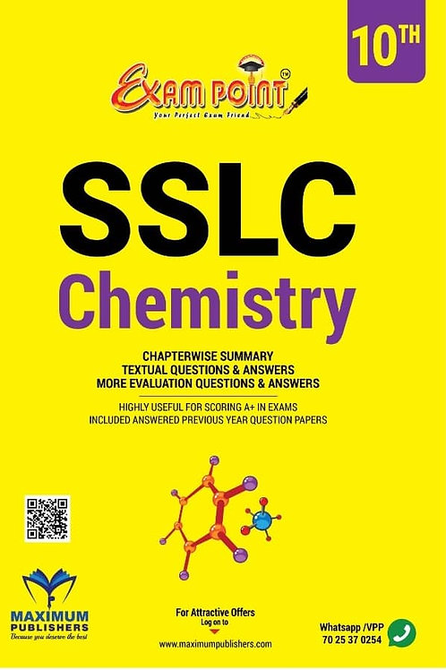 SSLC CHEMISTRY For Kerala Syllabus