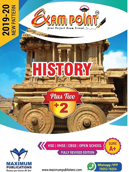 Plus Two History Kerala Syllabus ( HSE , VHSE ,OPEN SCHOOL )