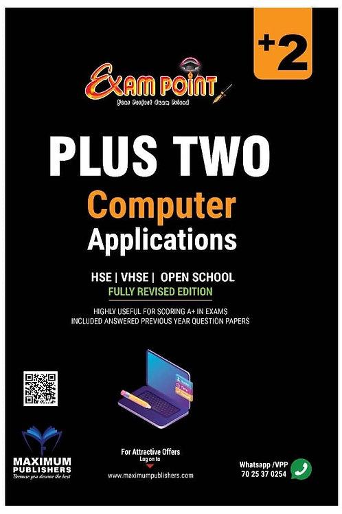 Plus Two Computer Application Kerala Syllabus ( HSE , VHSE ,OPEN SCHOOL )