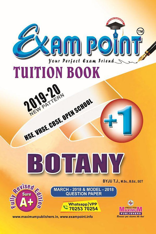Plus One Botany Tuition Book Kerala Syllabus ( HSE , VHSE ,OPEN SCHOOL)