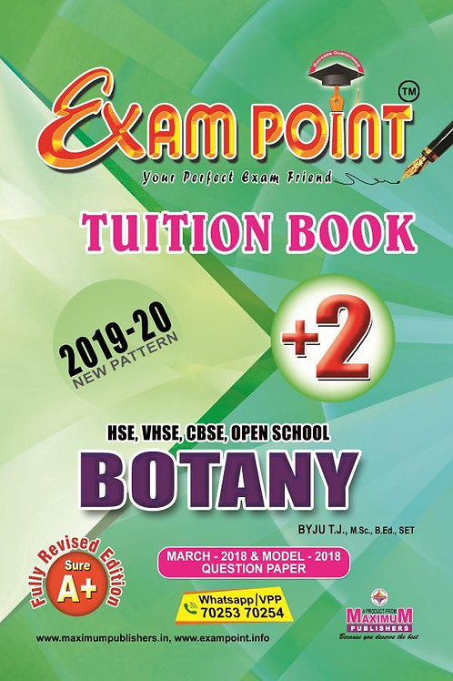 Plus Two Botany Tuition Book Kerala Syllabus ( HSE , VHSE ,OPEN SCHOOL )