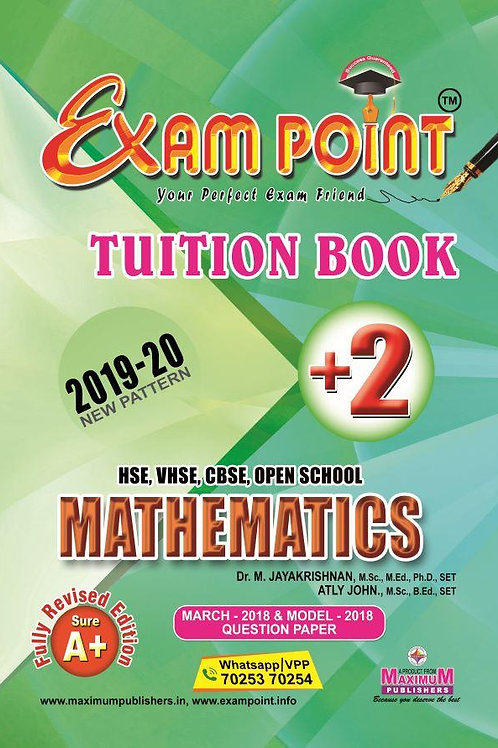 Plus Two Mathematics Tuition Book Kerala Syllabus ( HSE , VHSE ,OPEN SCHOOL )