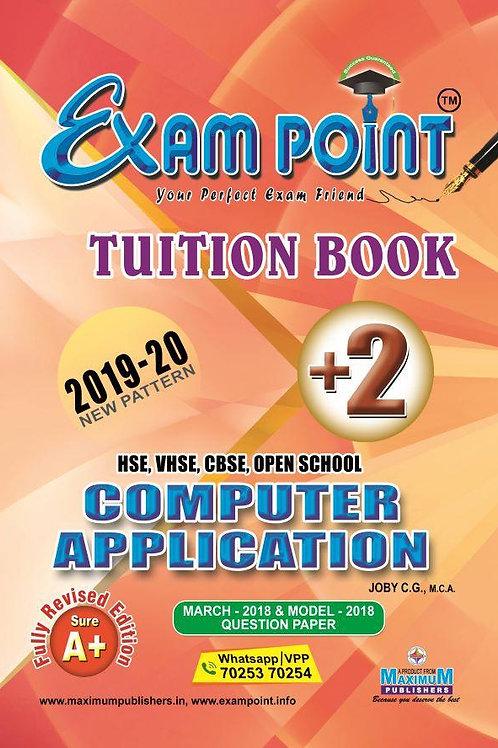 Plus Two Computer Application (English ) Tuition Book Kerala Syllabus