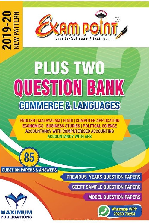 PLUS TWO COMMERCE QUESTION BANK