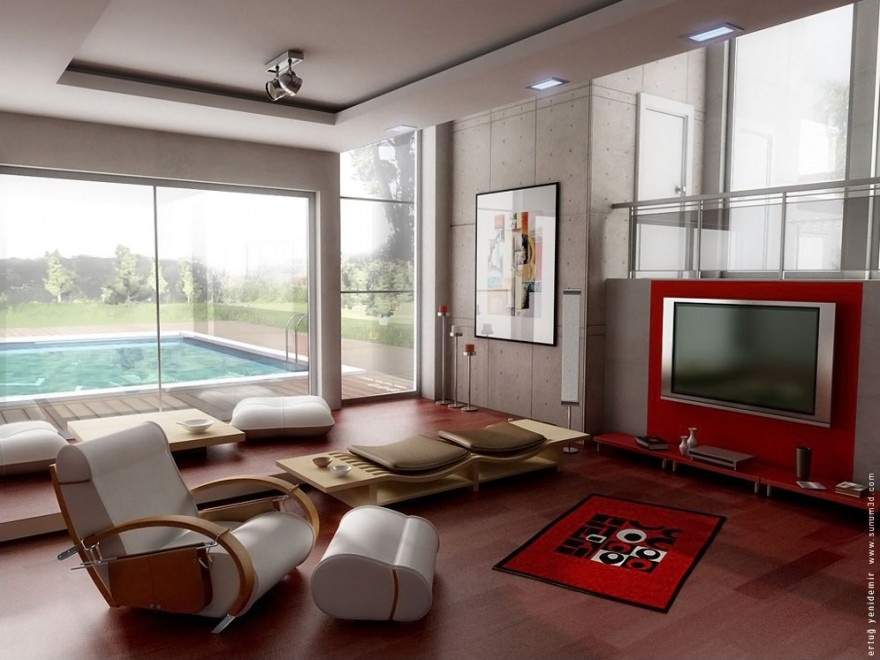 Modern-Living-Room-TV-Wall-Units-10-in-Vibrant-Red-Color-880x660.jpg