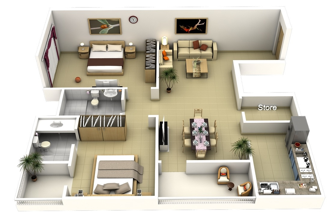 3d Floor Plans Mlaenterprises