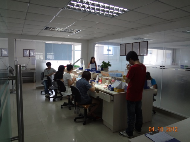Laboratory Porcelain Build Up Room