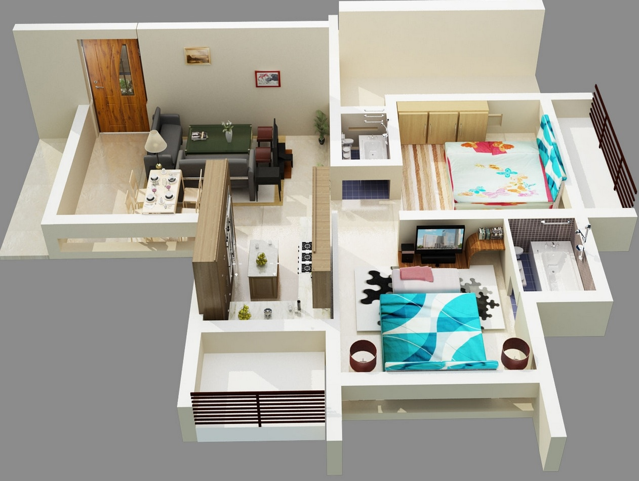 48-Bold-Two-Bedroom-Apartment-Design