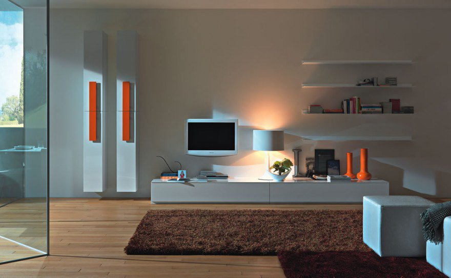 Modern-Living-Room-TV-Wall-Units-05-in-White-Color-with-Orange-Accents-880x542.j