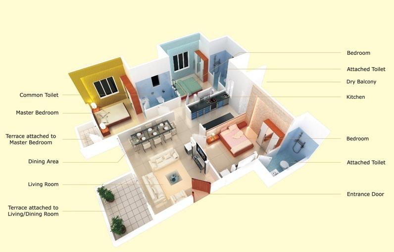 3D floor plans   mlaenterprises