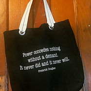 Rochesta Black Tote bag