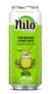 Nilo pure Coconut water with pulp, Nilo agua de coco con pulpa