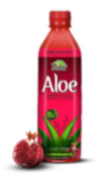 Nilo Aloe pomegranate bottle