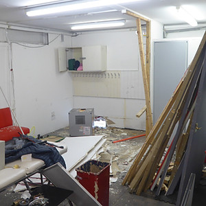 Changing Room Renovations