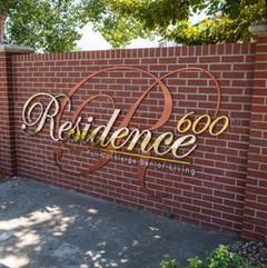 600 Residence Senior Living Community