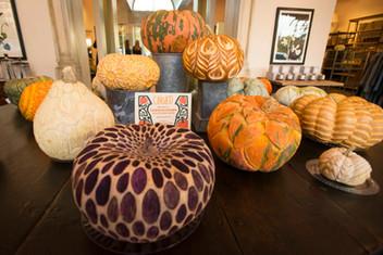 Carved Pumpkin Display // 10.25