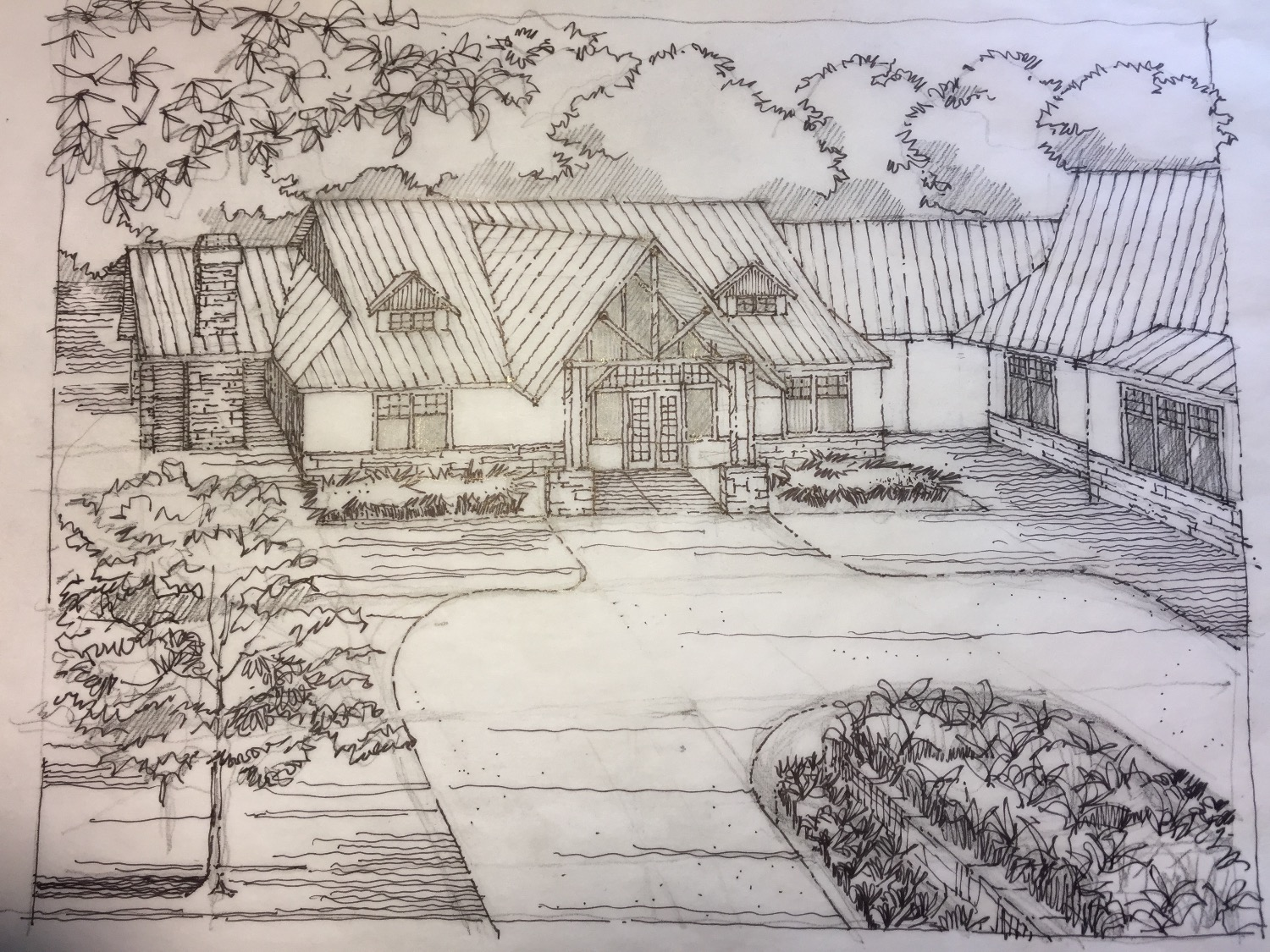 Sundance Ridge Entry Sketch