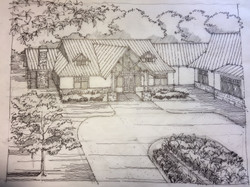Sundance Ridge Entry Sketch