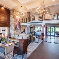 The lobby at Ironhorse