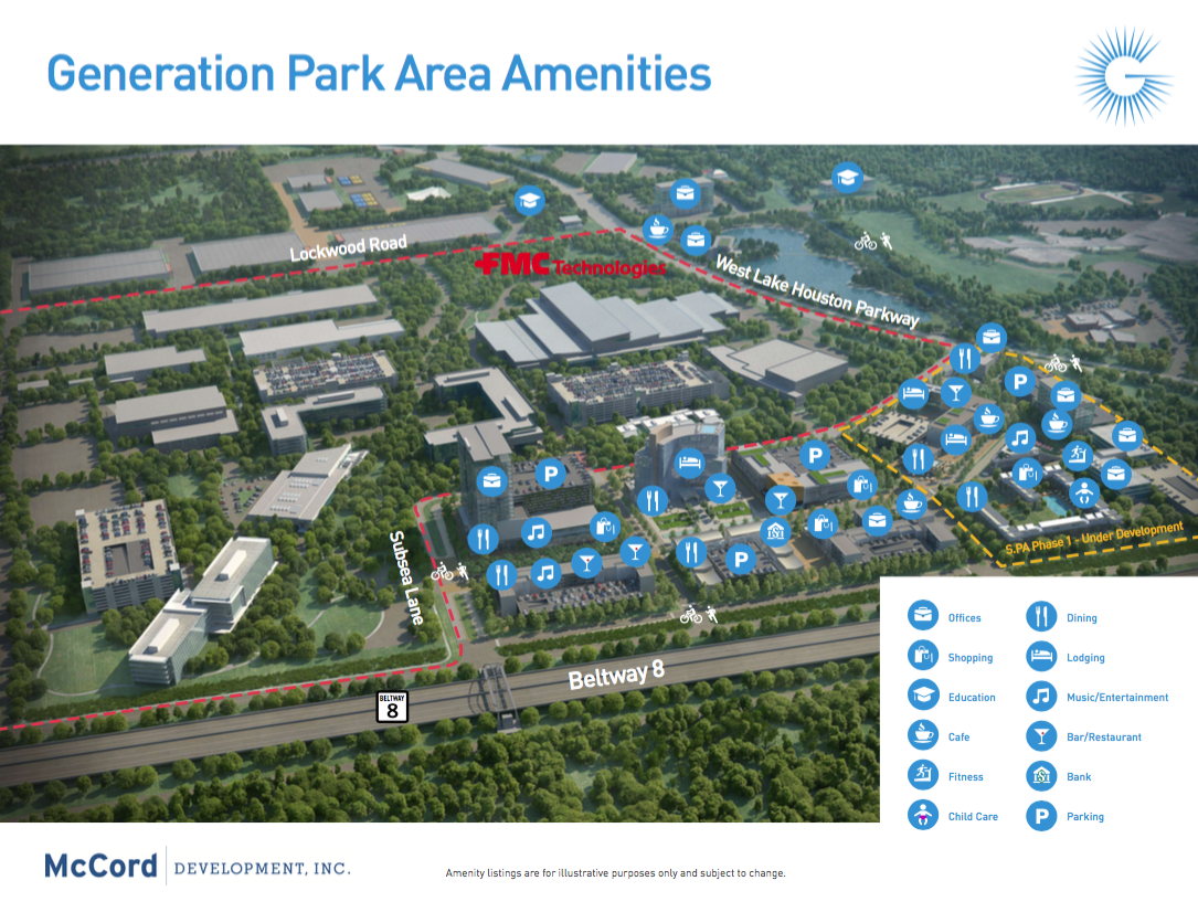 Generation Park Amenities Map