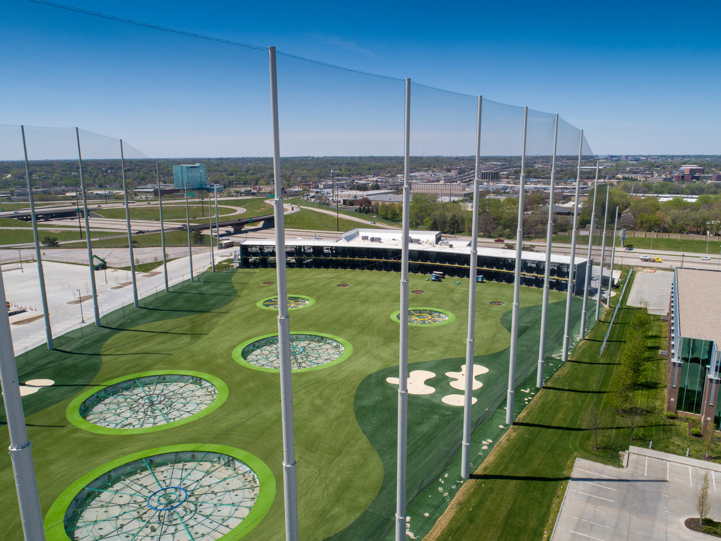High Note Aerial Top Golf Omaha 20200430