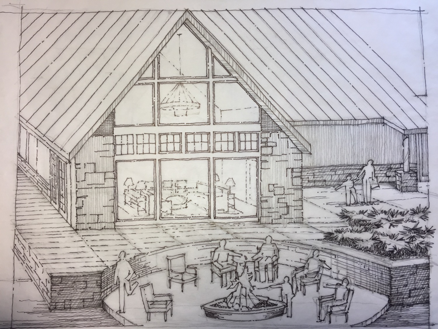 Sundance Ridge Patio Sketch