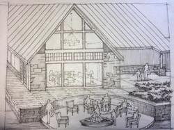 Sundance Ridge Patio Sketch