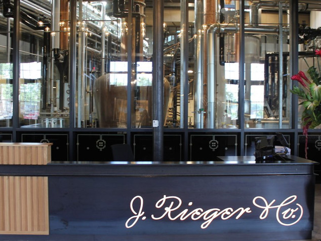 J. Rieger Distillery Launch
