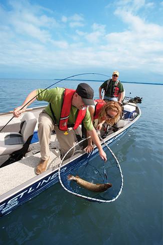 Fishing at Tobin Lake