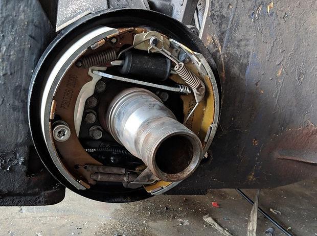 nissan forklift brake repair service in singapor