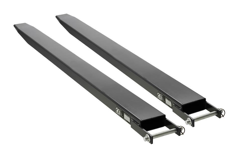 Black Fork Extension for forklift
