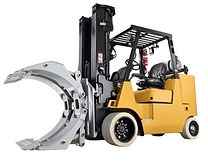 forklift paper roll clamp attachment for rent in singapore