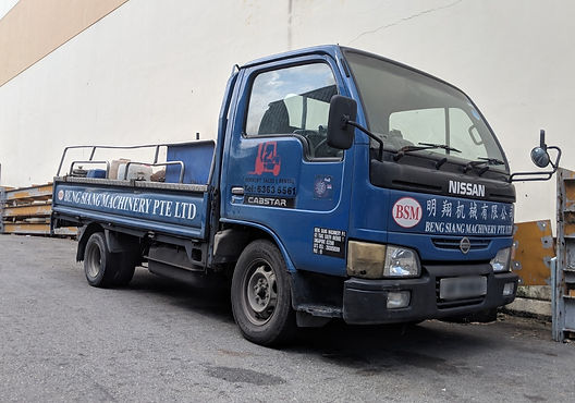 forklift repair services in singapore - beng siang machinery lorry