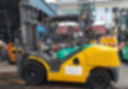 Used Komatsu FD50-10 forklift in singapore for sell