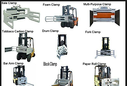 forklift attachments many