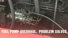 Fuel pump overhaul
