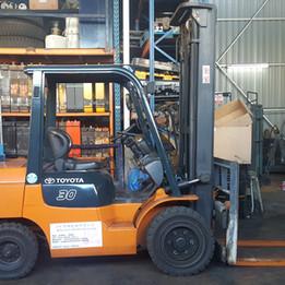 Toyota 7FD30 Forklift