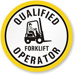 qualified forklift operator / driver for rent with forklift in singapore