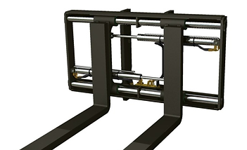 forklift hydraulic fork positioner / mover, move in and out