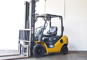 used second hand komatsu forklift 2.5ton with 6,000mm lifting height