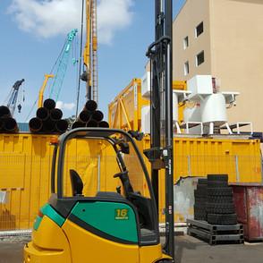 Battery 1.5 ton Komatsu Forklift