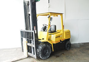 used 2nd hand hyster 4.5 ton forklift for sales