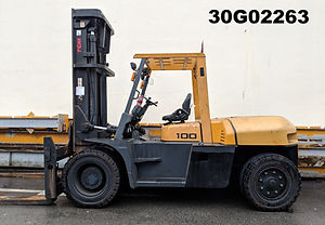 reconditioned 10 ton TCM forklift singapre, good condition