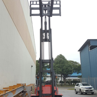 Nissan 7ton Forklift that reached 6m lifting height