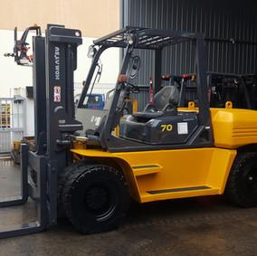 7ton diesel Forklift Komatsu FD70-7