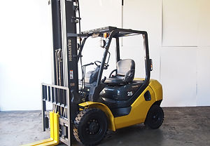 komatsu forklift 2.5ton with 6,000mm lifting height