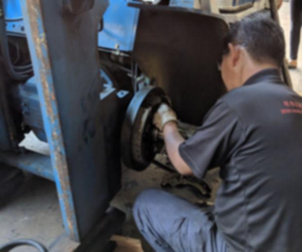komatsu forklift brake repair services in singapore
