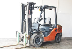 second hand toyota forklift for sales