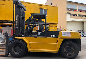 2nd hand komatsu 16 ton foklift for sales in singapore
