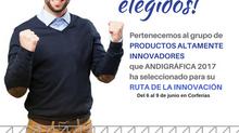CRISOL WEB: Elegido como servicio ALTAMENTE INNOVADOR en Andrigráfica 2017